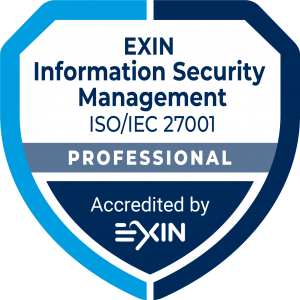 Accreditation Logo Own_ISMP_EXIN_AccreditationBadge_ModuleProfessional_InformationSM_ISO